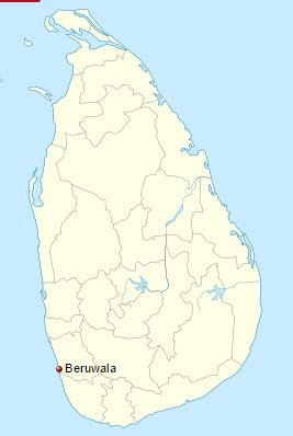 Beruwala location