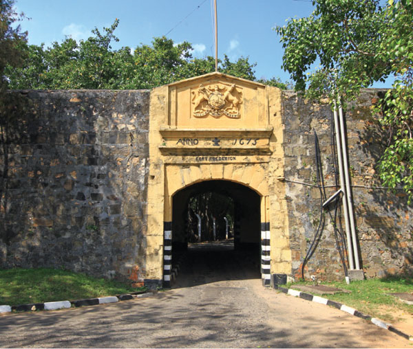 Fort Frederick, one of the best fort in Sri Lanka
