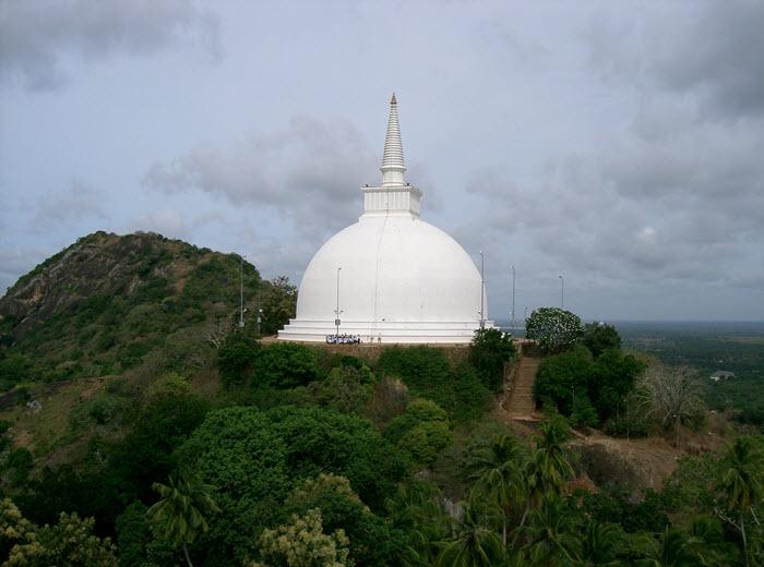 Mihintale_Mahaseya temple