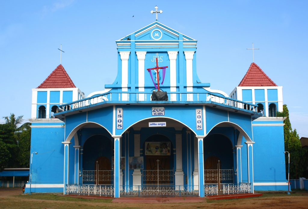 St. Mary's Cathedral is one of the best churches in Sri Lanka