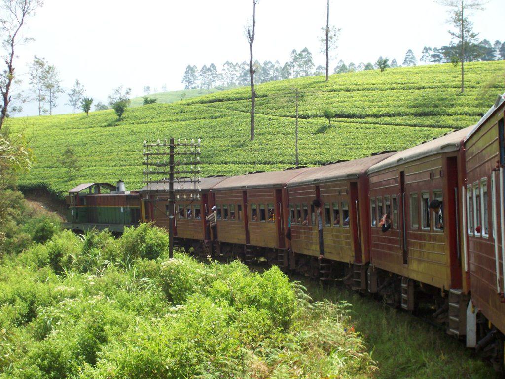 railway track Colombo to Badulla is one of the most beautiful railway tracks in Sri Lanka